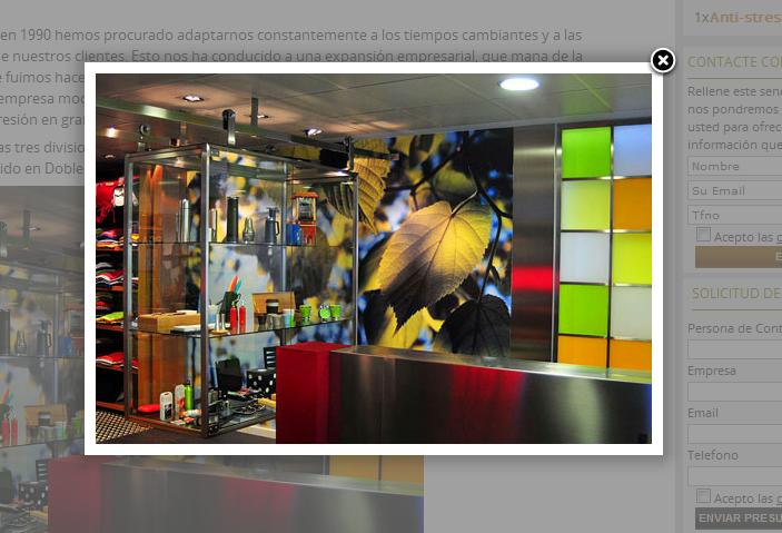 Añadir Lightbox a las imágenes del CMS de Prestashop